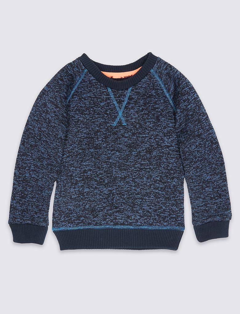 Düz Renk Sweatshirt