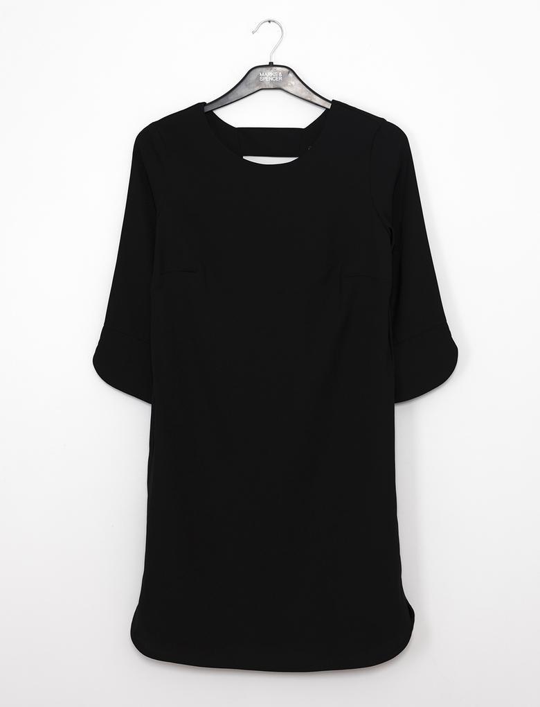 Siyah Tunik Elbise