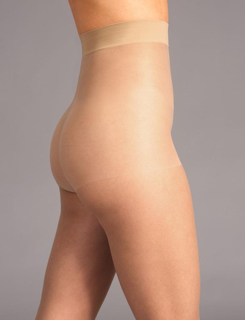 Bej 5 Denye Secret Slimming Toparlayıcı Özellikli Külotlu Çorap
