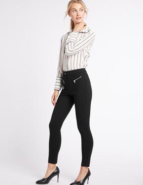 Siyah Skinny Leg Pantolon