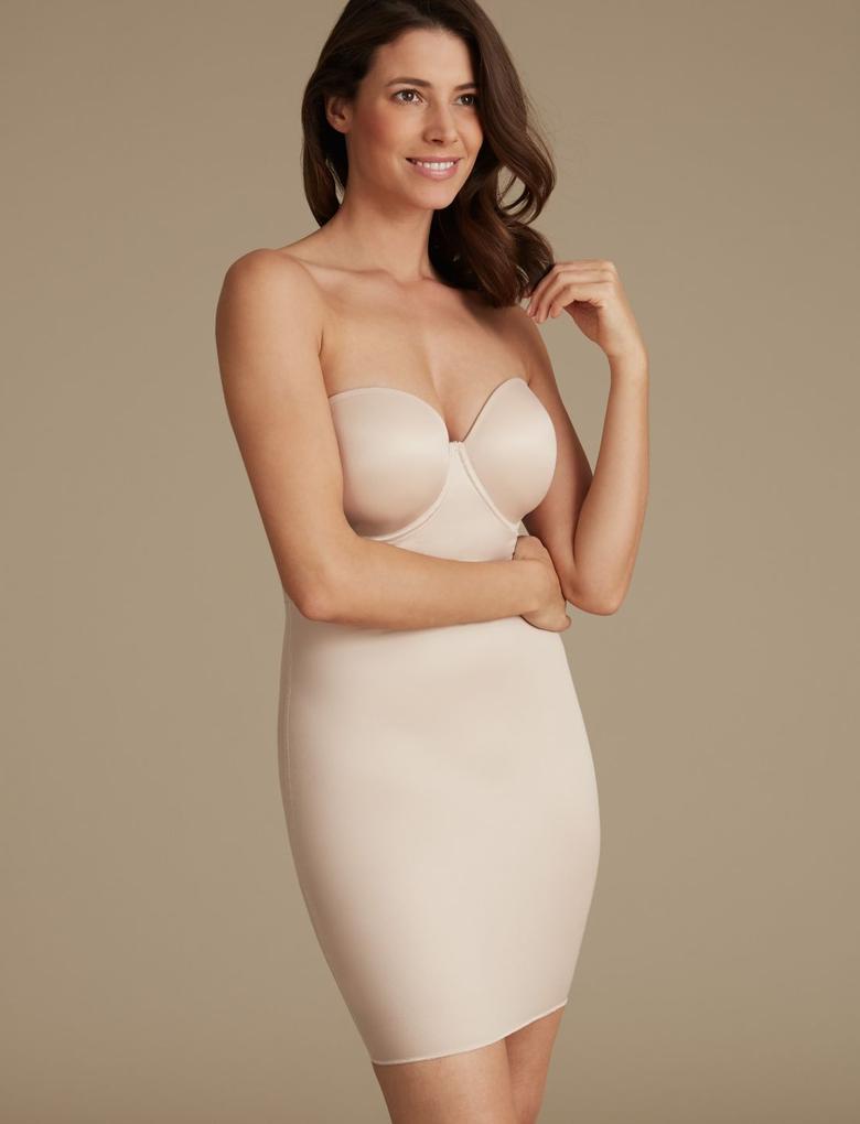 Kadın Bej Secret Slimming™ Orta Sıkılıkta Korse A-E