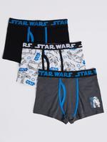 Mavi Star Wars™ Pamuklu Streç Trunk Külot