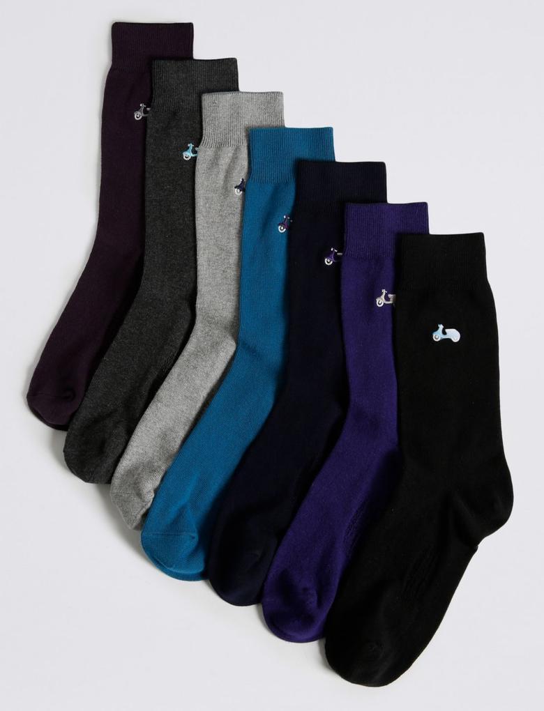 7'li Çorap (Cool & Freshfeet™ Teknolojisi ile)