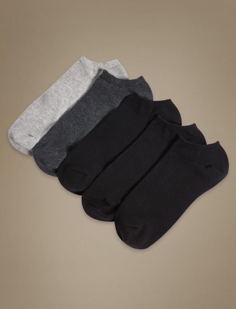 Gri 5'li Çorap Seti