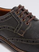 Bağcıklı Deri Ayakkabı