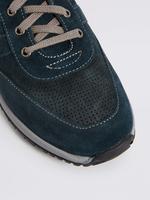 Bağcıklı Süet Spor Ayakkabı