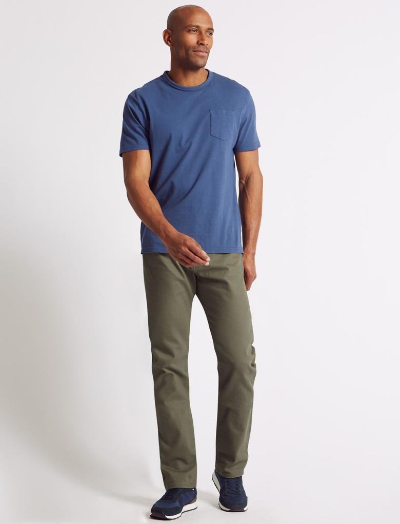 Regular Fit Streç Jean Pantolon (Stormwear™ Teknolojisi ile)