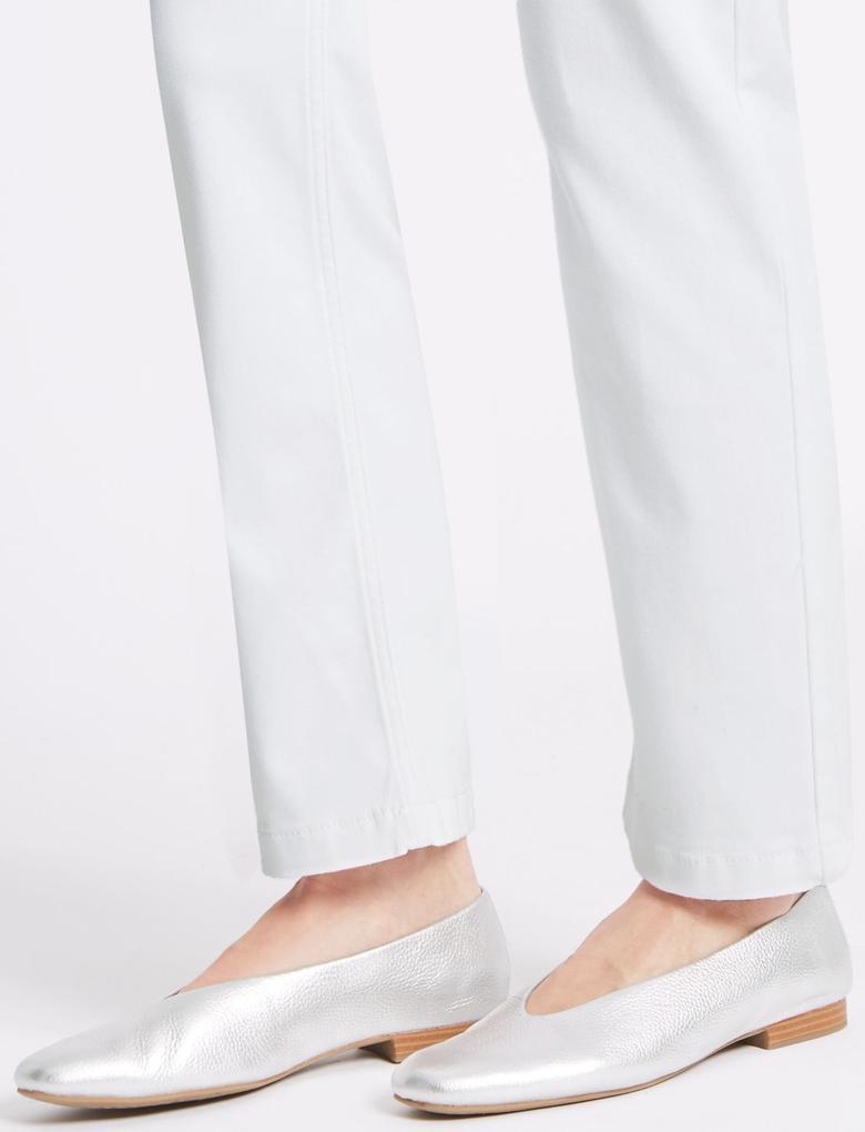 Roma Rise Straight Leg Jean Pantolon
