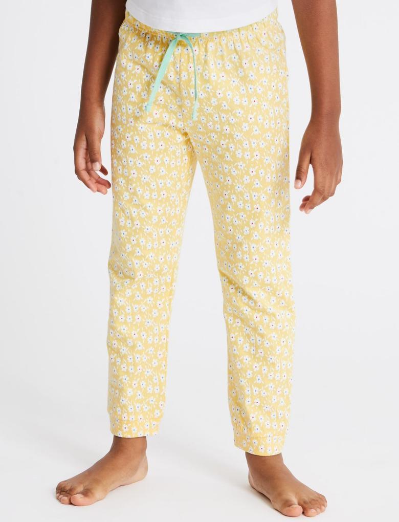 2'li Saf Pamuklu Pijama Takımı (1 - 7 Yaş)