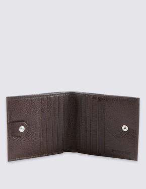 Çift Bölmeli Deri Cüzdan (Cardsafe™ Teknolojisi ile)