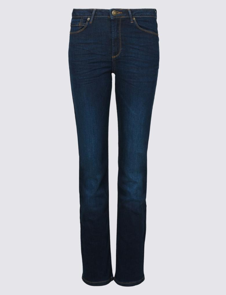 Sculpt & Lift Straight Leg Jean Pantolon