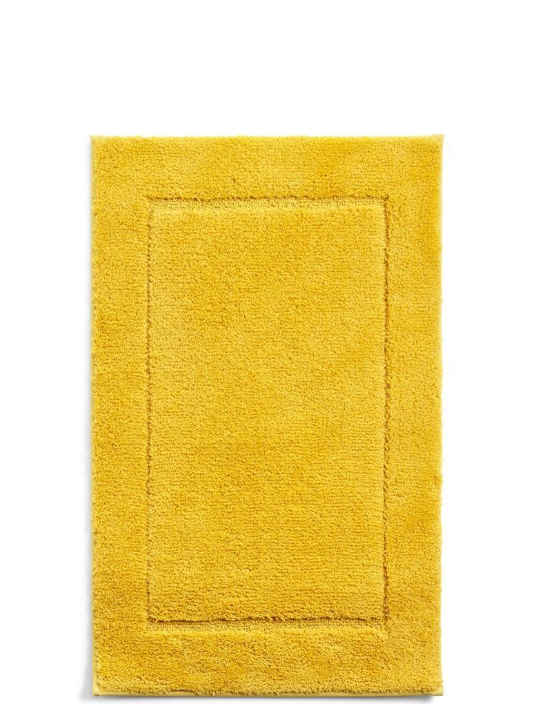 Sarı Hızlı Kuruyan Banyo Paspası