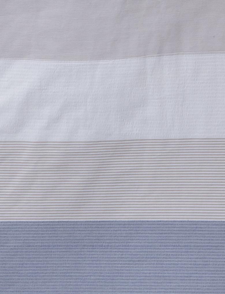 Ev Multi Renk Brooklyn Çizgili Yatak Takımı