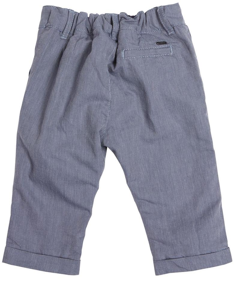 Saf Pamuklu Dokuma Pantolon