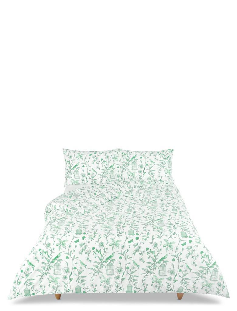 Yeşil Desenli Yatak Takımı