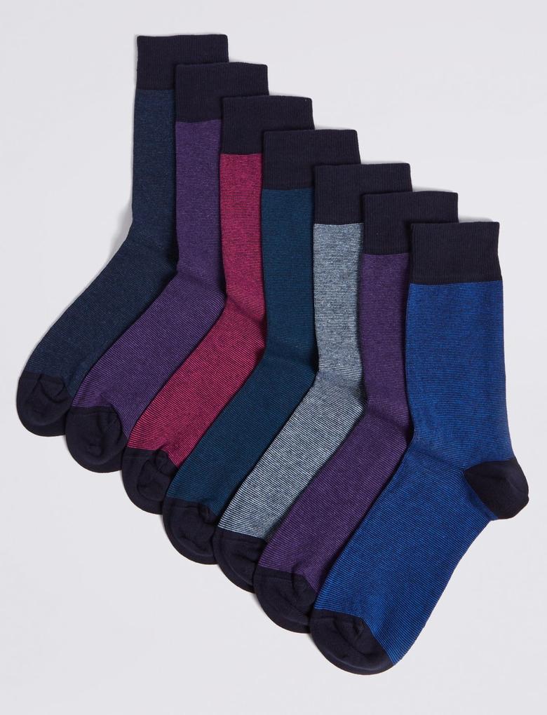 7'li Çorap Seti (Cool & Freshfeet™ Teknolojisi ile)