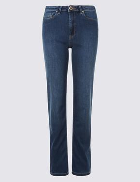 Sculpt & Lift Rome Rise Straight Leg Jean Pantolon