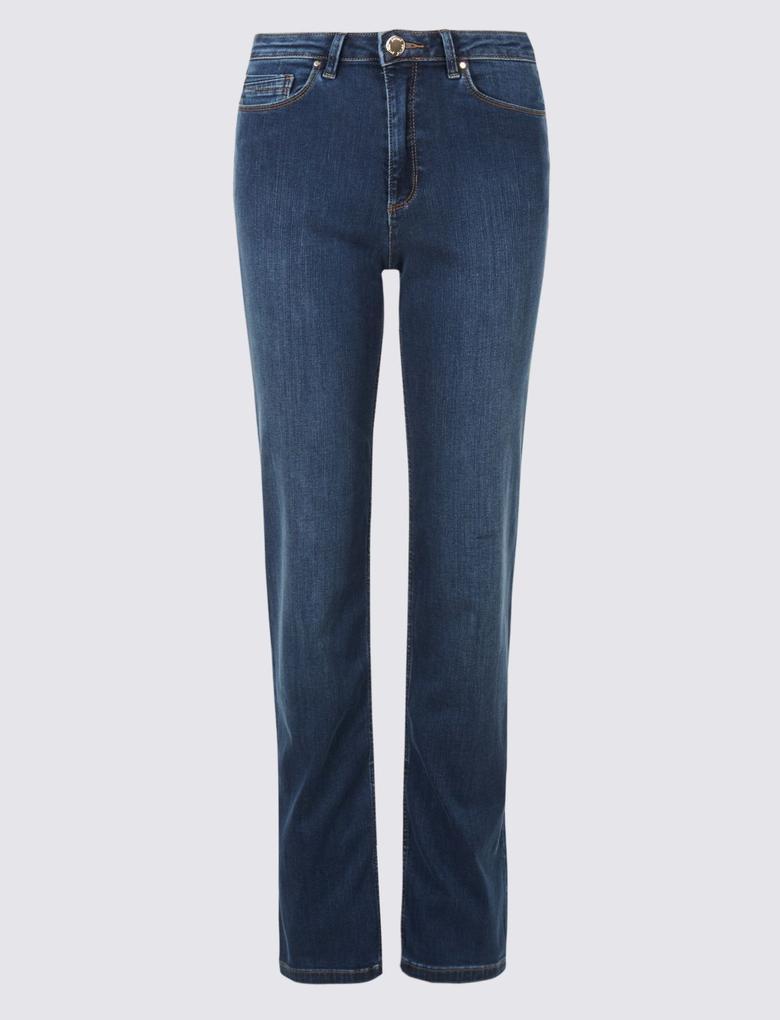 Mavi Sculpt & Lift Rome Rise Straight Leg Jean Pantolon