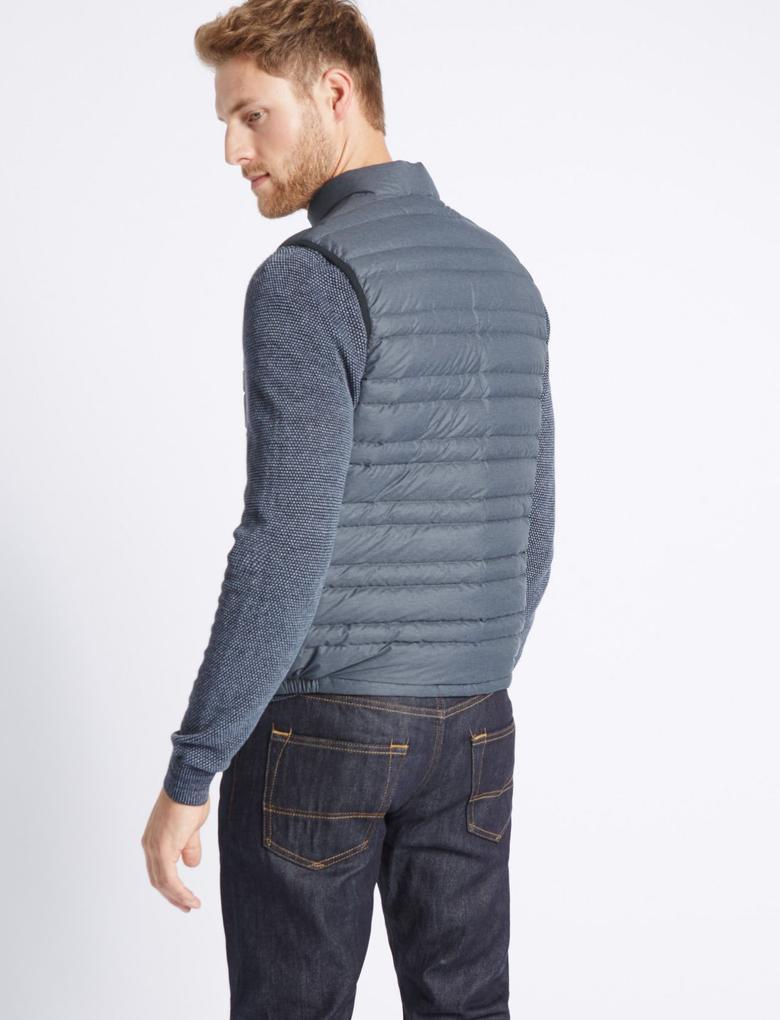 Down & Feather Kuş Tüylü Yelek (Stormwear™ Teknolojisi ile)