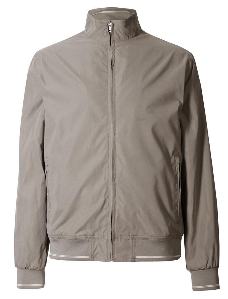 Kahverengi Bomber Ceket (Stormwear™ Teknolojisi ile)