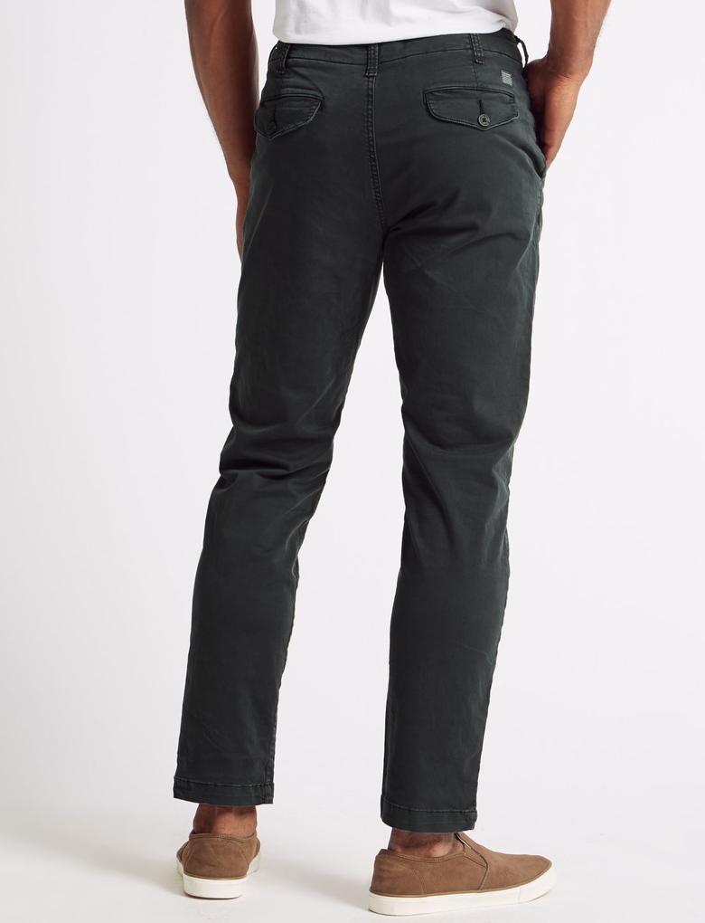 Slim Fit Pamuklu Chino Pantolon