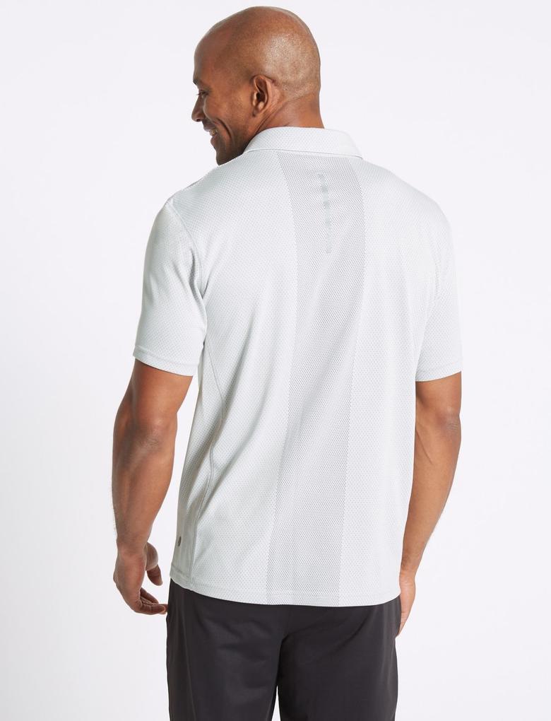 Hızlı Kuruyan Streç Polo Yaka T-Shirt
