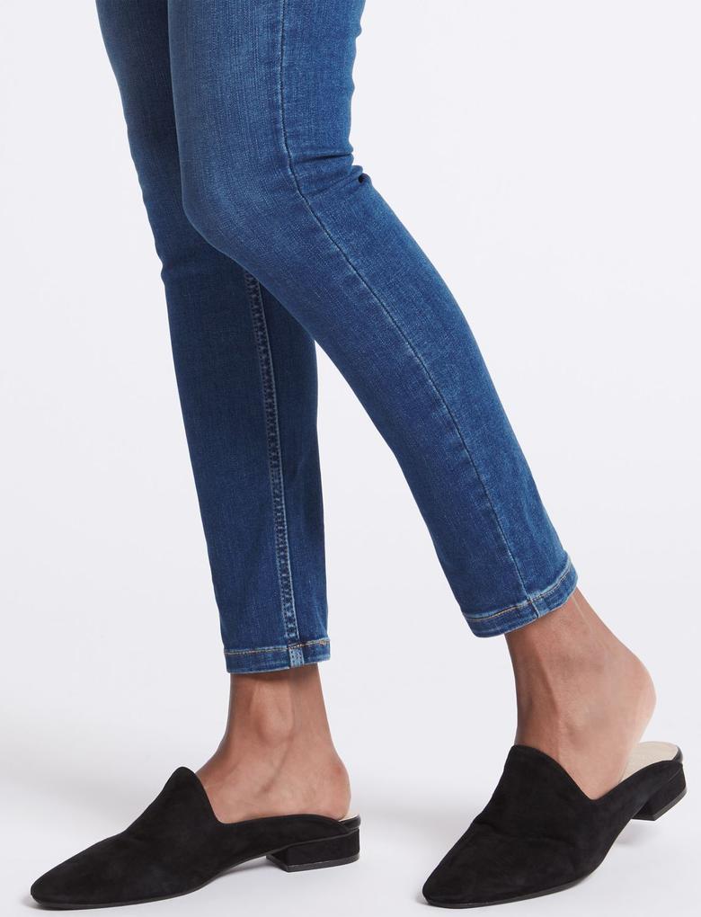 Sculpt & Lift Orta Belli Skinny Leg Jean Pantolon