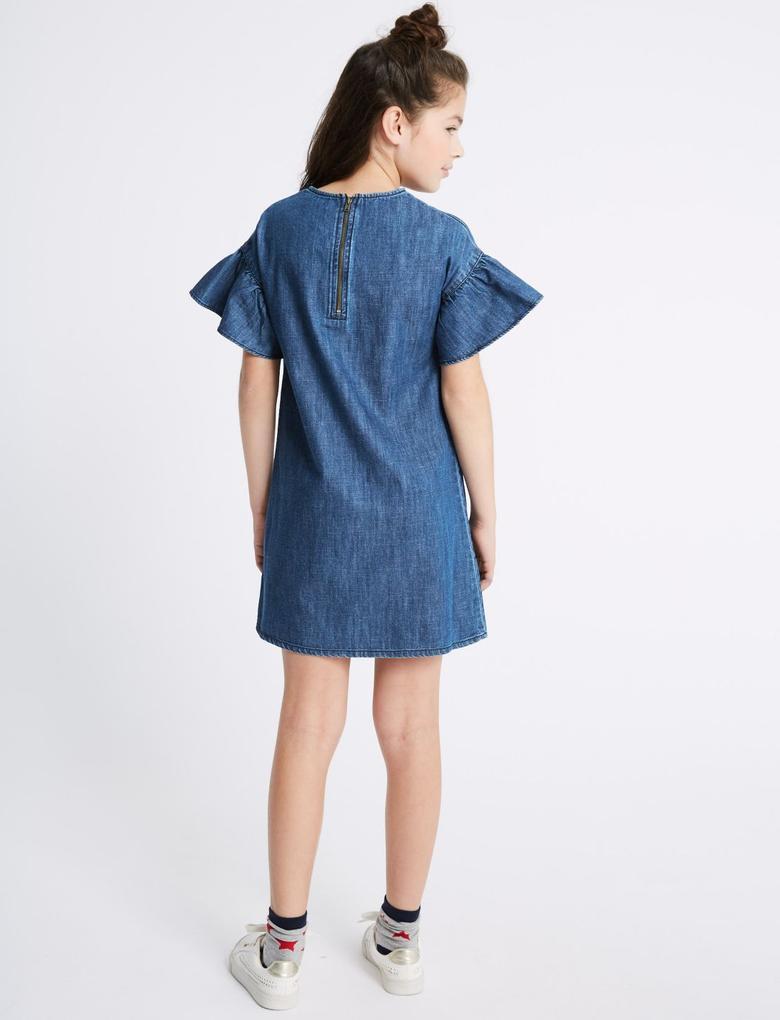 Denim Elbise (3 - 16 Yaş)