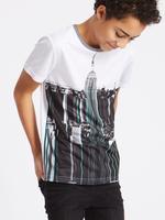 Desenli Kısa Kollu T-Shirt (3 - 16 Yaş)