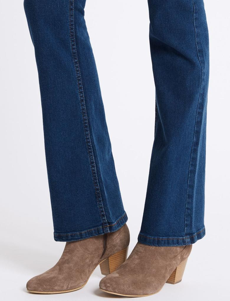 Orta Belli Slim Bootcut Jean Pantolon