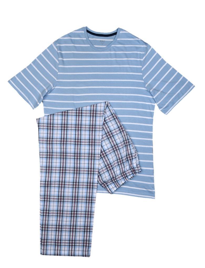 Çizgili Paketli Pijama Takımı