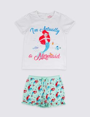 Disney Princess™ Saf Pamuklu Pijama Takımı (2 - 10 Yaş)