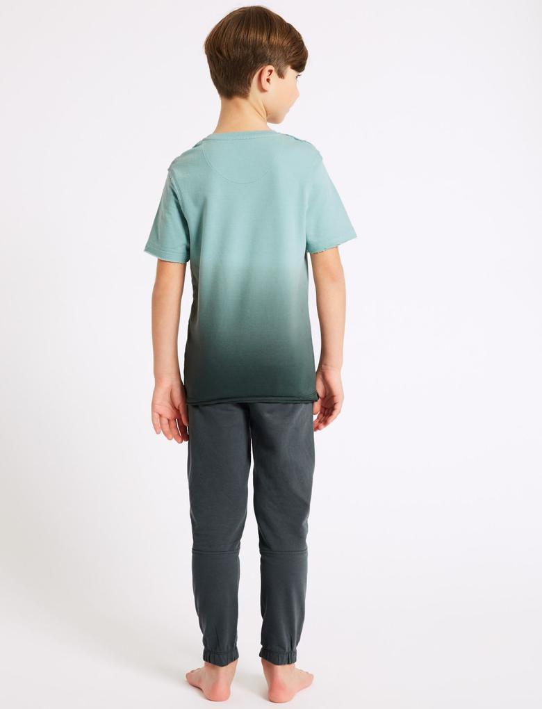 Saf Pamuklu Pijama Takımı (3 - 16 Yaş)