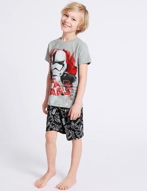 HIZLI GÖRÜNÜM Star Wars Saf Pamuklu Pijama Takımı (5 - 14 Yaş) ... 0299fabaca6