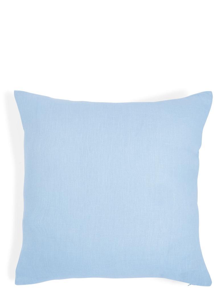 Ev Mavi Keten Yastık