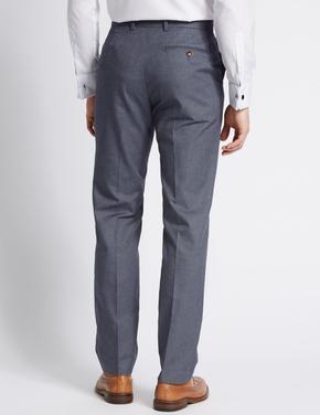 Saf Pamuklu Tailored Fit Pantolon