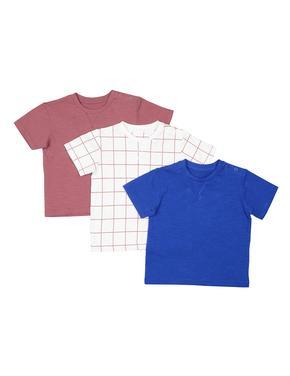 3'lü Kısa Kollu T-Shirt
