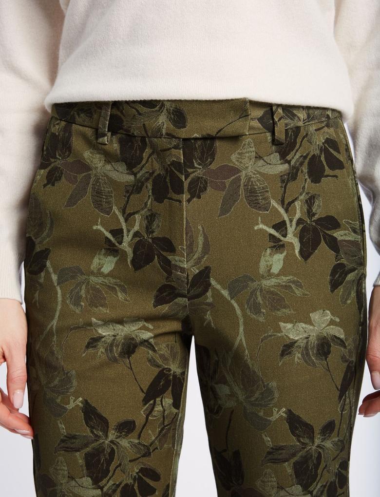 Yeşil Pamuklu Pantolon