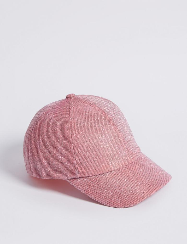 Pembe Kids' Pırıltılı Şapka