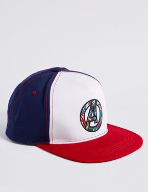 Kids' Avengers Saf Pamuklu Şapka