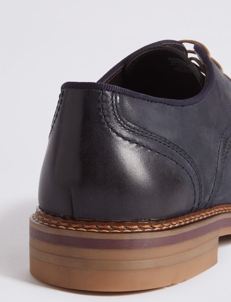 Bağcıklı Süet Ayakkabı