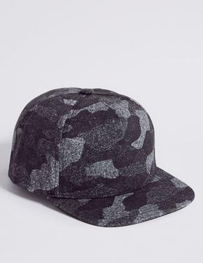 Kids' Saf Pamuklu Şapka