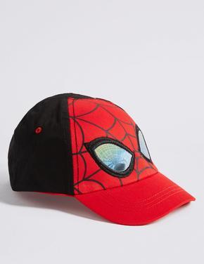 Kırmızı Kid's Saf Pamuklu Spider-Man™ Şapka