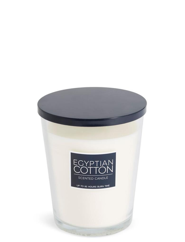 Lacivert Egyptian Cotton Kokulu Büyük Mum