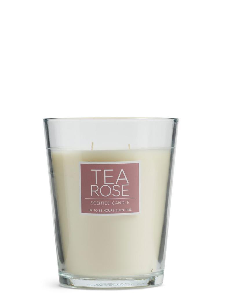 Çay Gülü Büyük Kokulu Mum