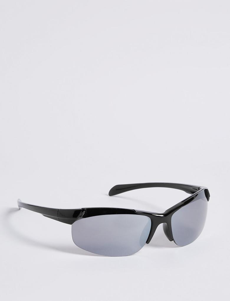 Siyah Sportif Güneş Gözlük
