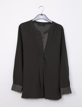 Yeşil Uzun Kollu Bluz