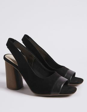Açık Burunlu Topuklu Ayakkabı