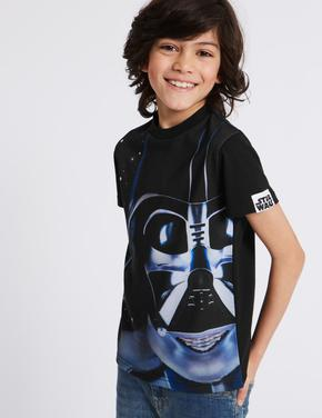 Darth Vader Star Wars™ Desenli Kısa Kollu T-Shirt