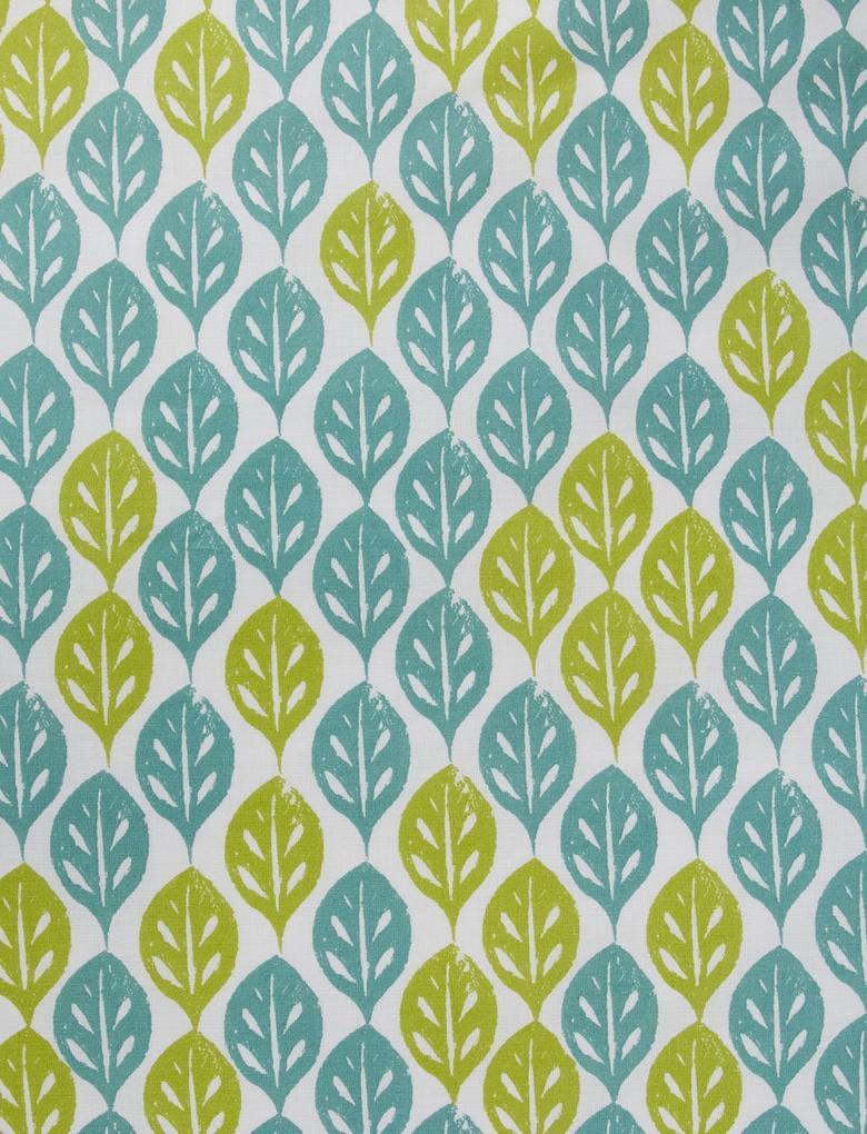 Yeşil Ella Desenli Yatak Takımı